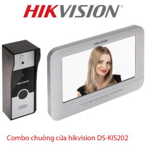 Combo chuông cửa hikvision DS-KIS202